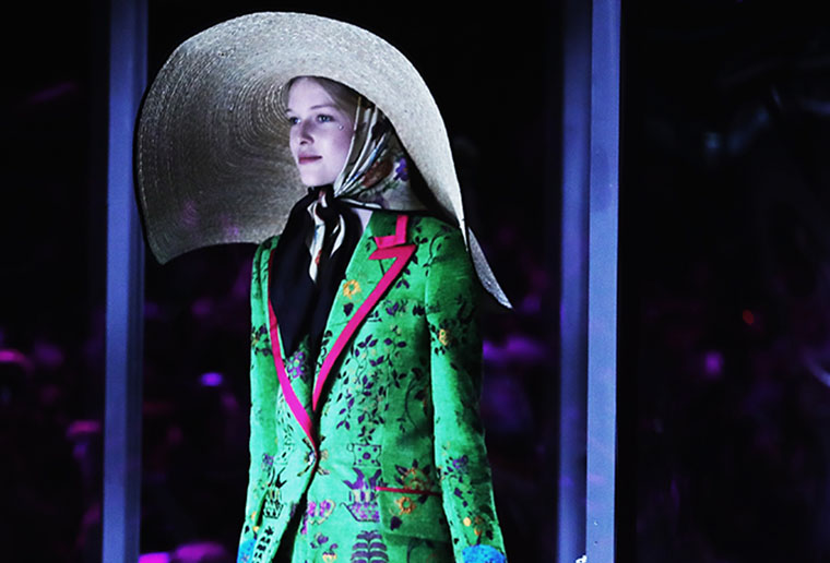 Inside Gucci's eclectic Milan Fashion Week show
