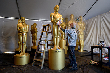 Preparations continue for the 89th Academy Awards