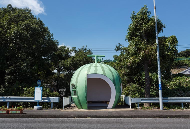 The 15 strangest bus stops in the world