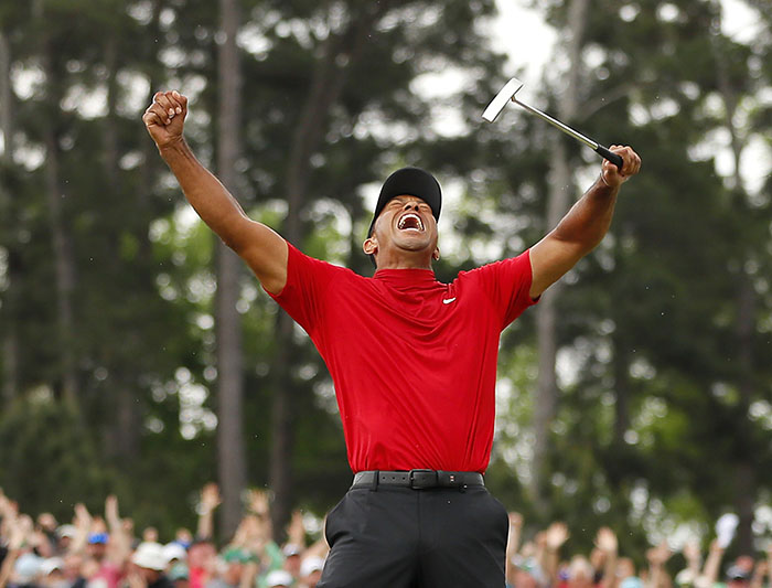 Tiger Woods Wins His 5th Masters