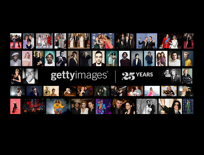 Happy 25th Birthday Getty Images